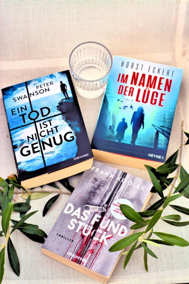 Büchertipps im August- ich war begeistert