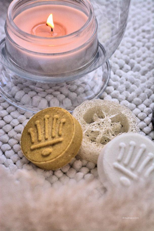 Festes Shampoo- toll im Duft und in der Pflegeleistung