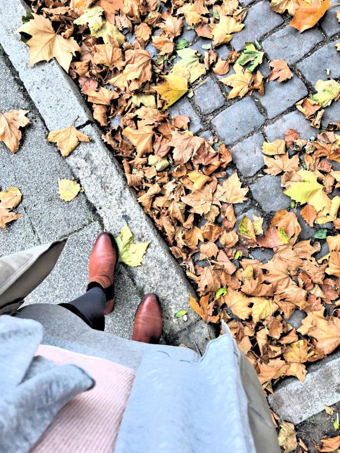 Momente des Glücks im Oktober- die Laubfärbung