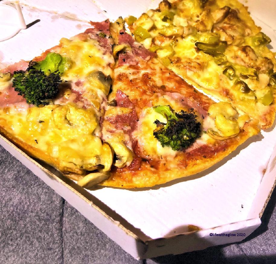 Momente des Glücks- Pizza vom alten Lieblingsabholdienst