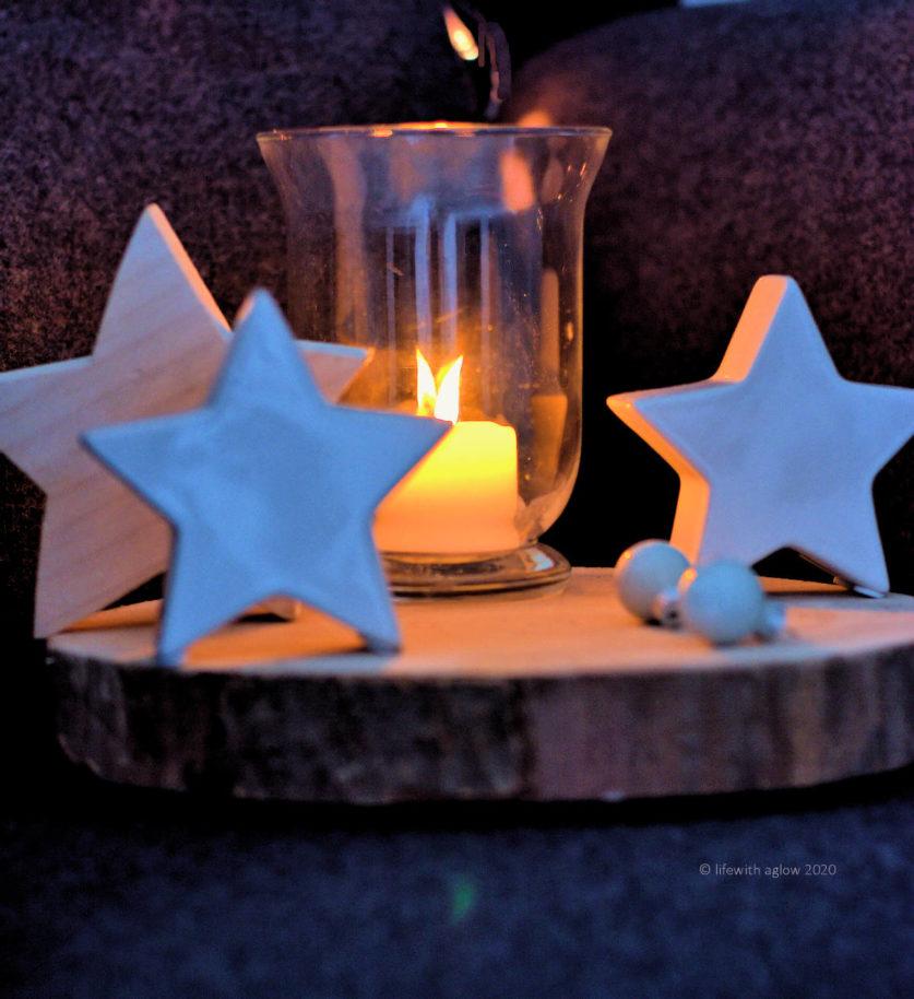Besinnliche Adventszeit-nehmt euch Zeit für die sanften Dinge in dieser Zeit, Kerzen, Kuscheln