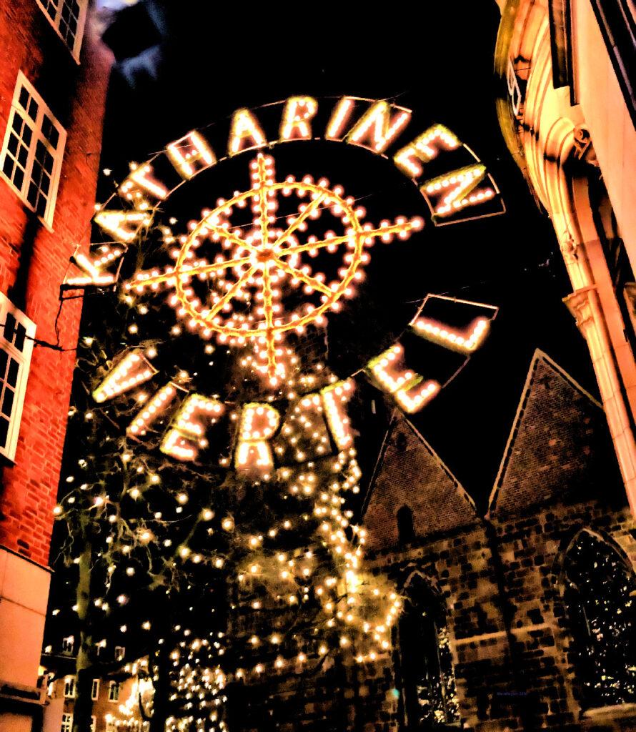 Momente des Glücks- Weihnachtsbeleuchtung