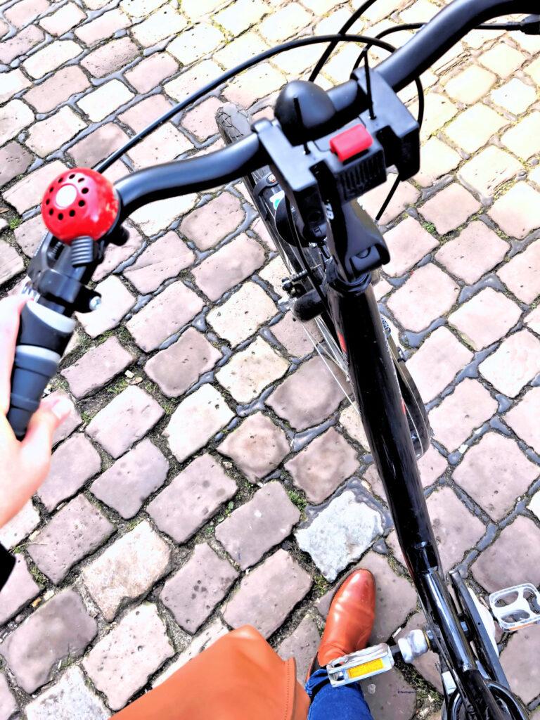 Momente des Glücks, wenn das Fahrrad von alleine fährt, haha