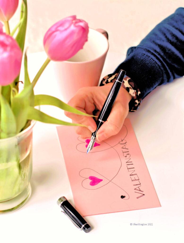 Valentinstag kann man auch ohne großen Konsum feiern